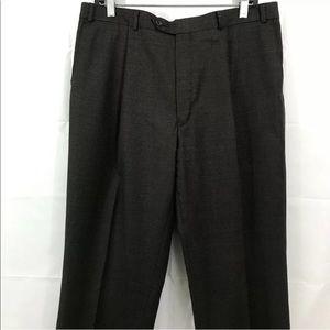 Ralph Lauren Pants Small Check Wool Cashmere Blend